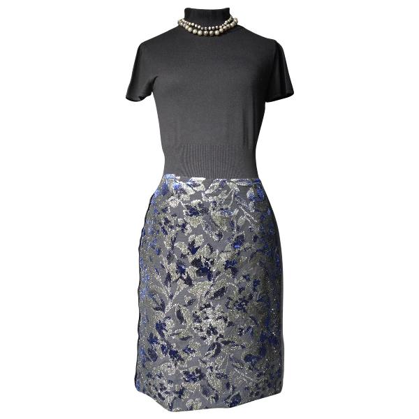 Lanvin Black Velvet Skirt