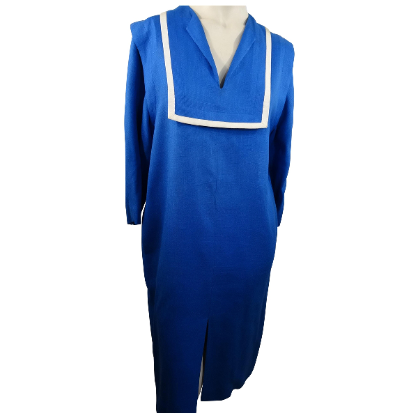 Givenchy Blue Linen Dress