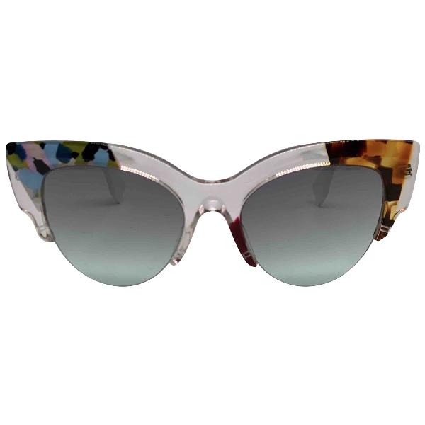 Fendi Silver Sunglasses