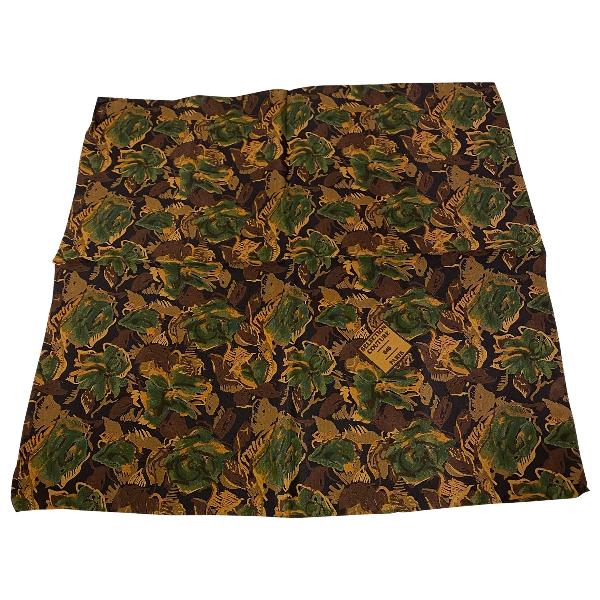 Givenchy Green Silk Scarf & Pocket Squares