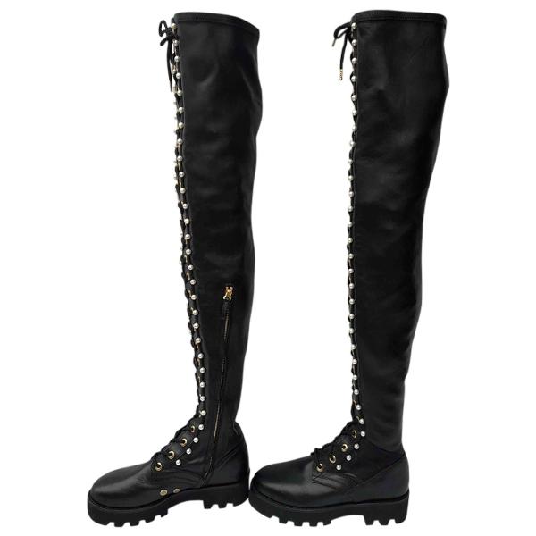 Altuzarra Black Leather Boots