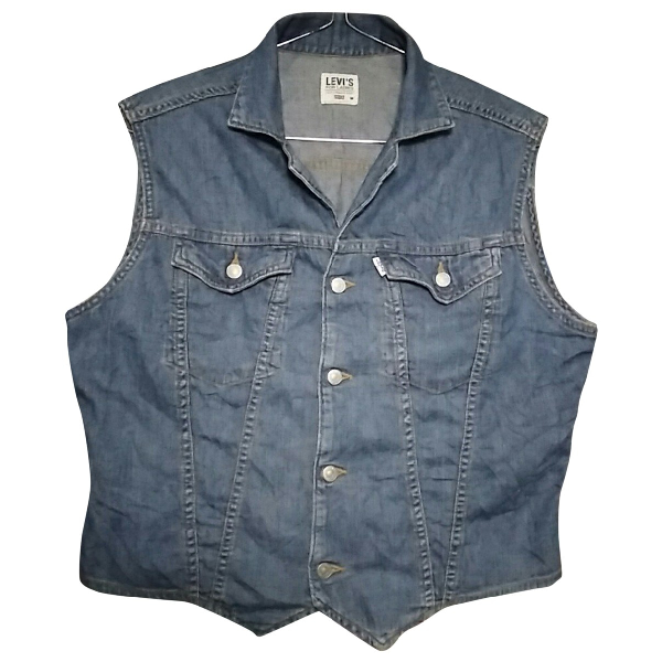 Levi's Blue Denim - Jeans  Top