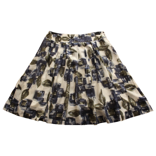 Max Mara Multicolour Cotton Skirt