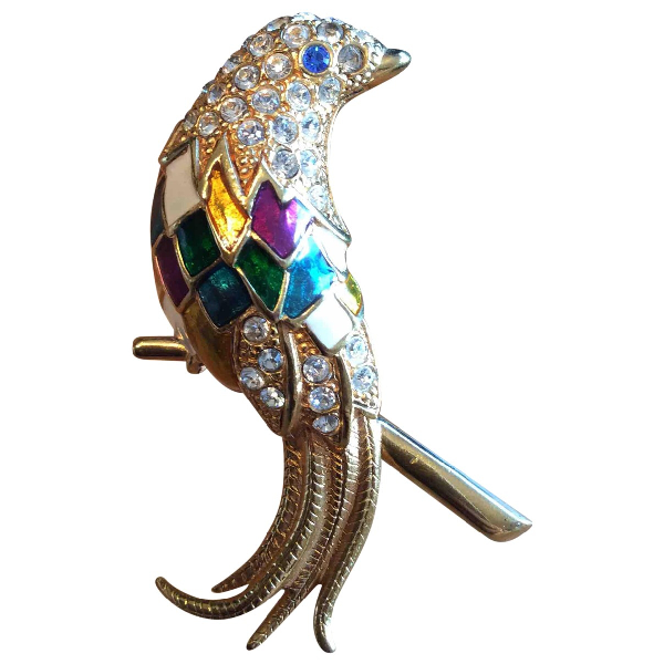 Carven Multicolour Metal Pins & Brooches