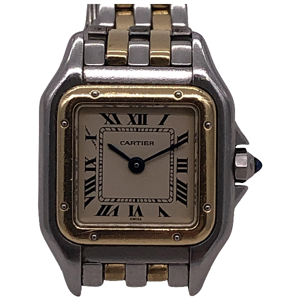 Cartier PanthÈre Gold And Steel Watch