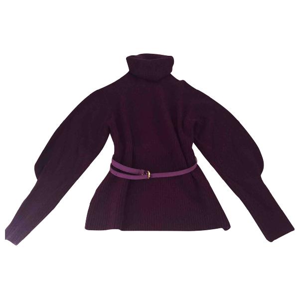 Altuzarra Purple Cashmere Knitwear