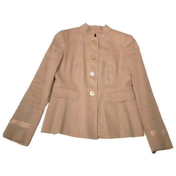 Emporio Armani Grey Cotton Jacket