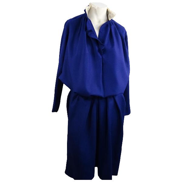 Gerard Darel Navy Wool Dress