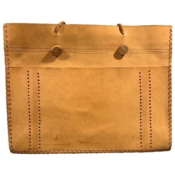 Miu Miu Beige Leather Handbag