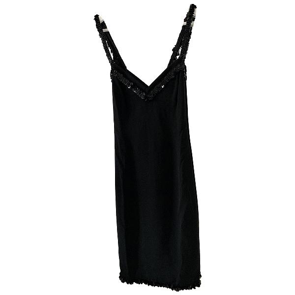 Valentino Black Silk Dress