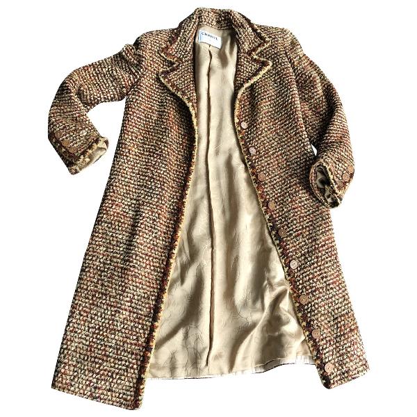 Chanel Multicolour Wool Coat