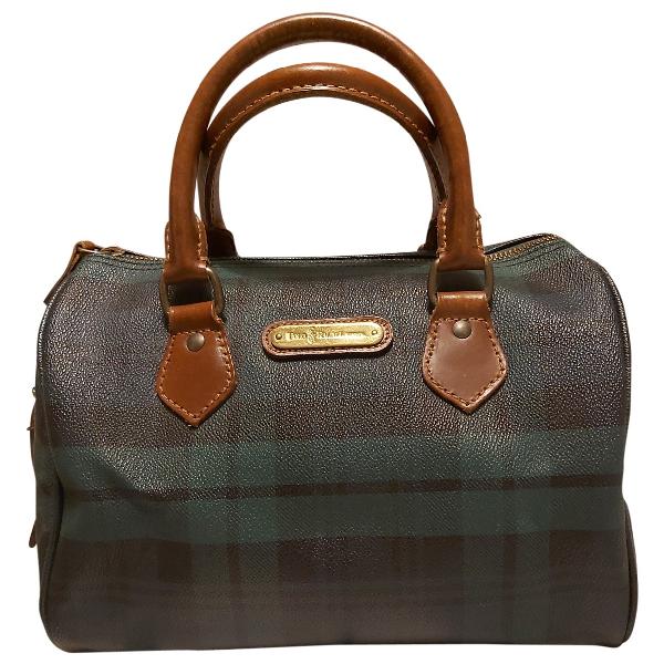 Polo Ralph Lauren Multicolour Patent Leather Handbag