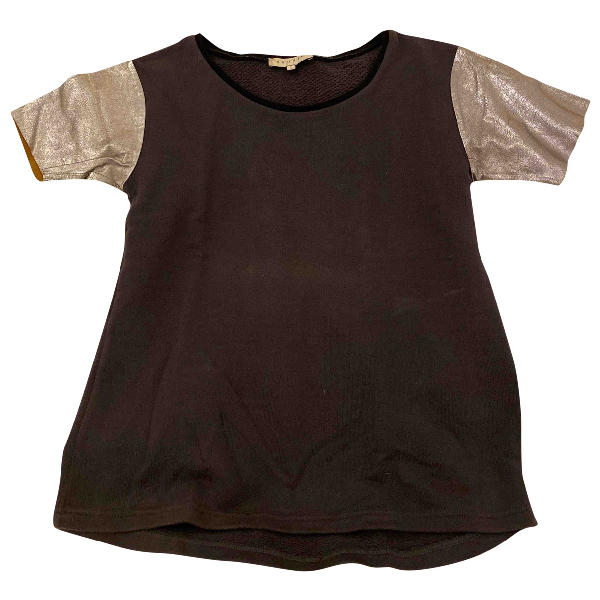Sandro Grey Cotton  Top
