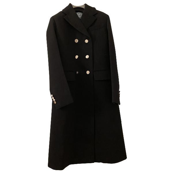 Prada Black Wool Coat