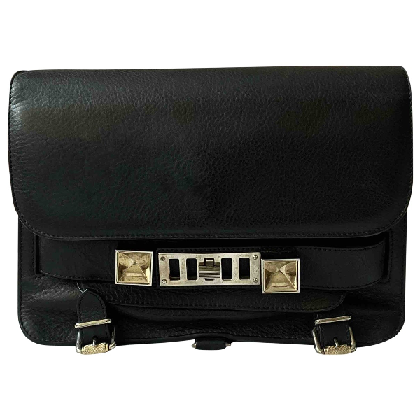 Proenza Schouler Ps11 Black Leather Handbag
