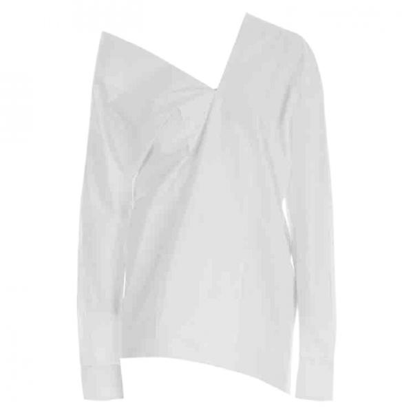 Celine White Cotton Leather Jacket