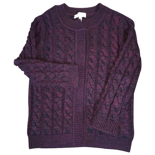 Etoile Isabel Marant Burgundy Wool Knitwear