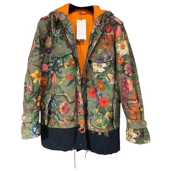Gucci Multicolour Cotton Coat