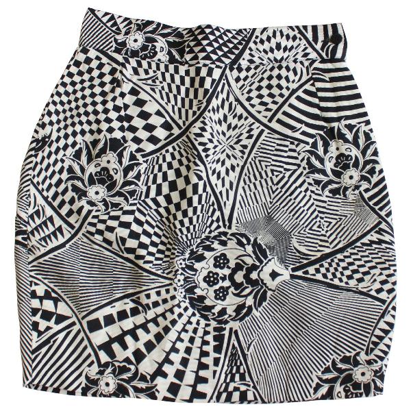 Versus Black Cotton Skirt