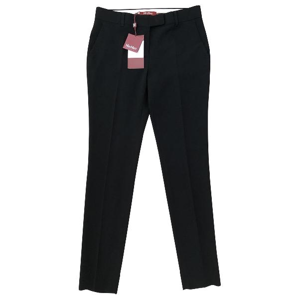 Max Mara Black Trousers