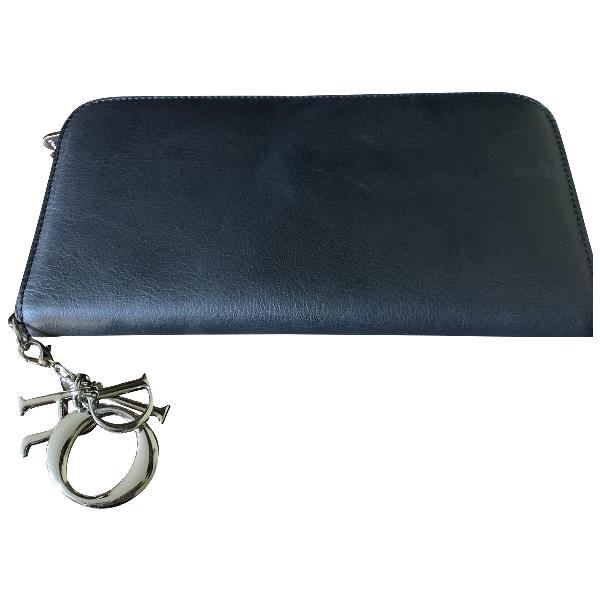 Dior Black Leather Wallet