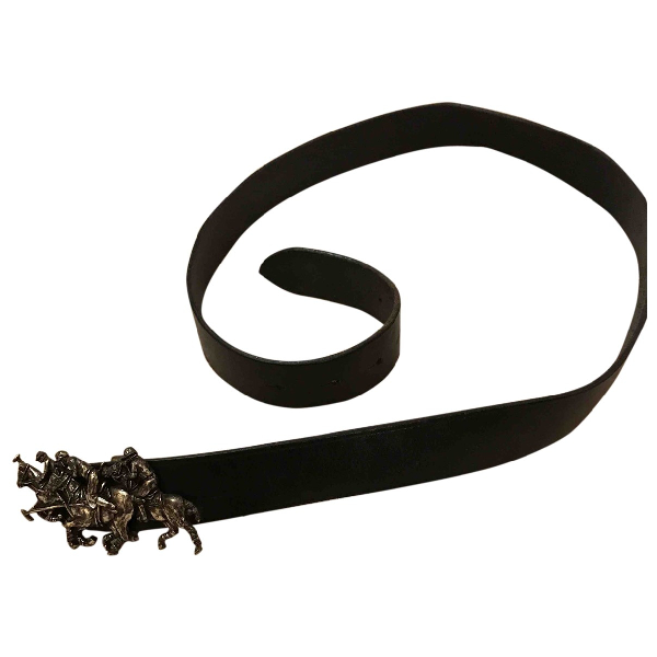 Ralph Lauren Black Leather Belt