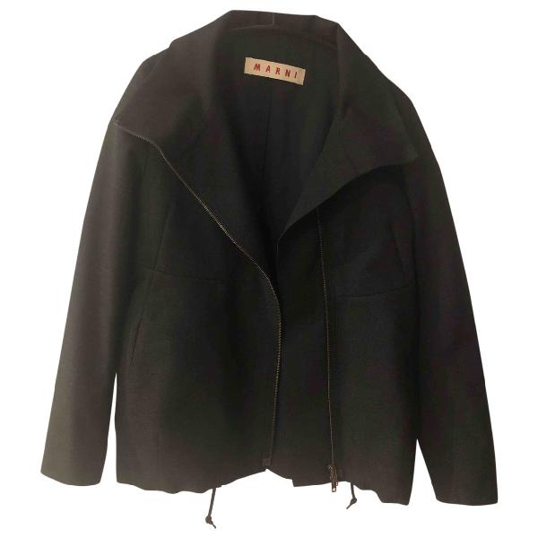 Marni Grey Cotton Jacket