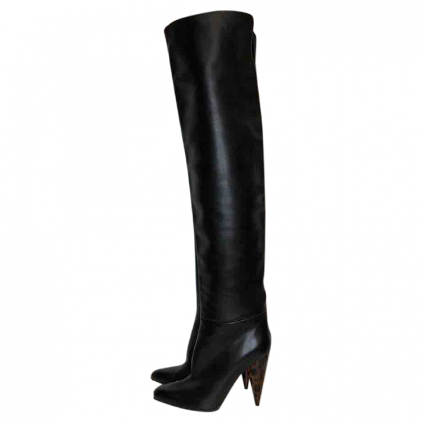 Tom Ford Black Leather Boots