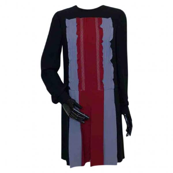 Valentino Black Cotton Dress