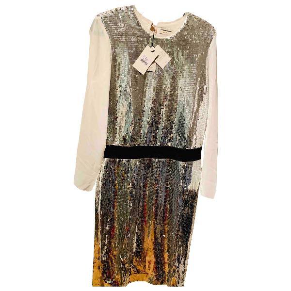 By Malene Birger Grey Glitter Dress