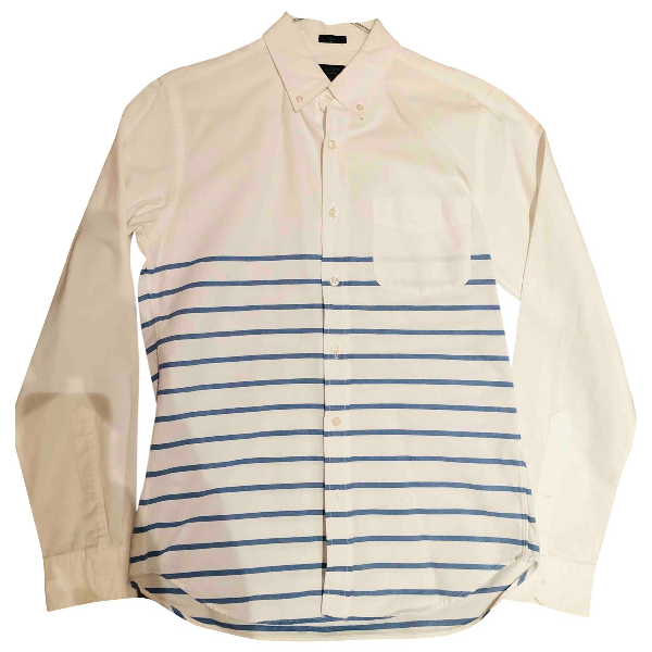 J.crew White Cotton Shirts