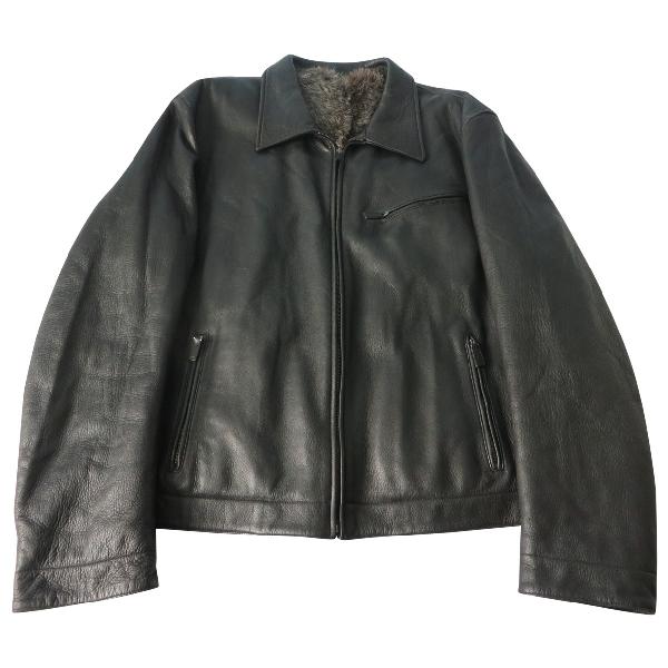 Gucci Black Fur Jacket