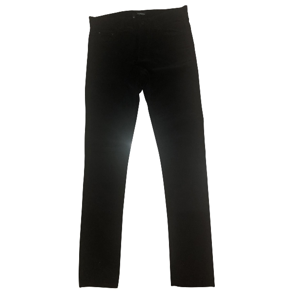 The Kooples Black Cotton Trousers