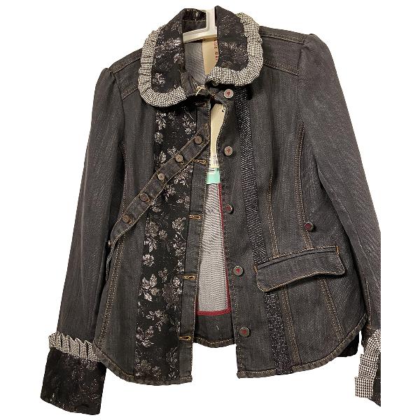 Antonio Marras Blue Cotton Jacket