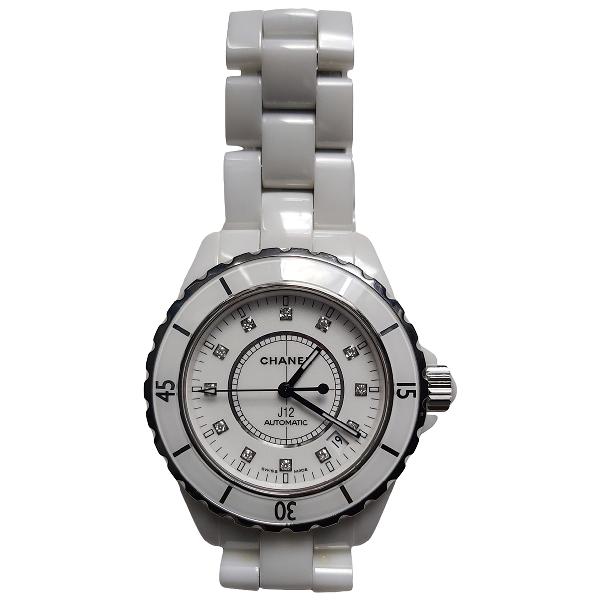 Chanel J12 Automatique White Ceramic Watch