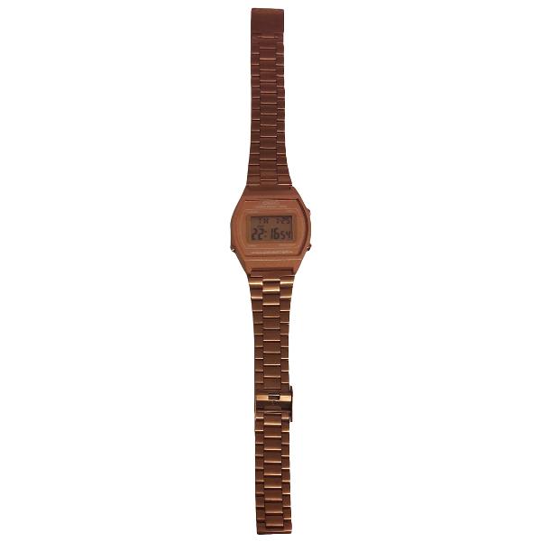Casio Gold Steel Watch