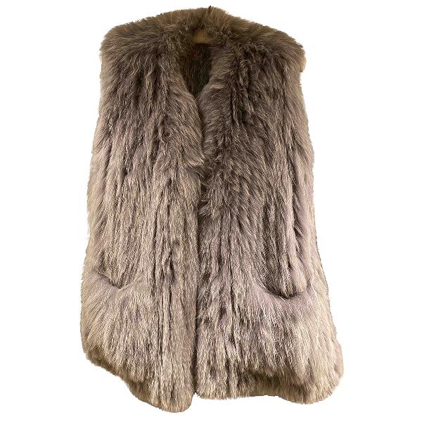 Utzon Grey Fox Coat