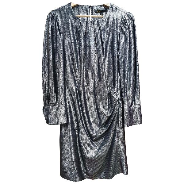 Maje Fall Winter 2019 Silver Dress