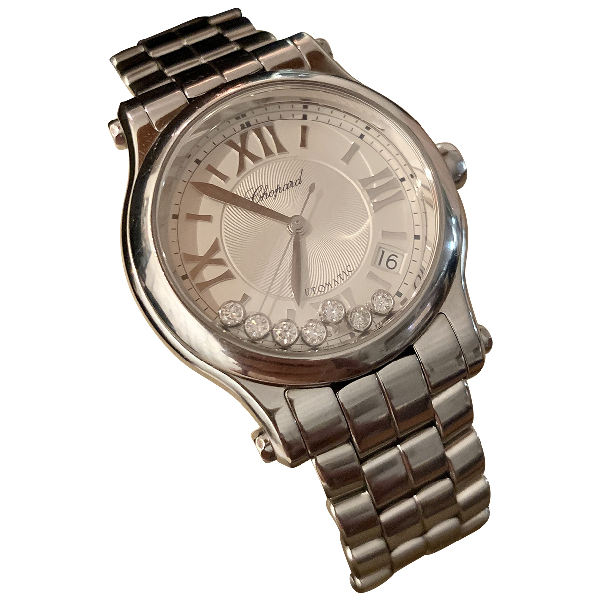 Chopard Happy Sport Silver Steel Watch