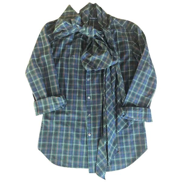 Ralph Lauren Green Cotton  Top