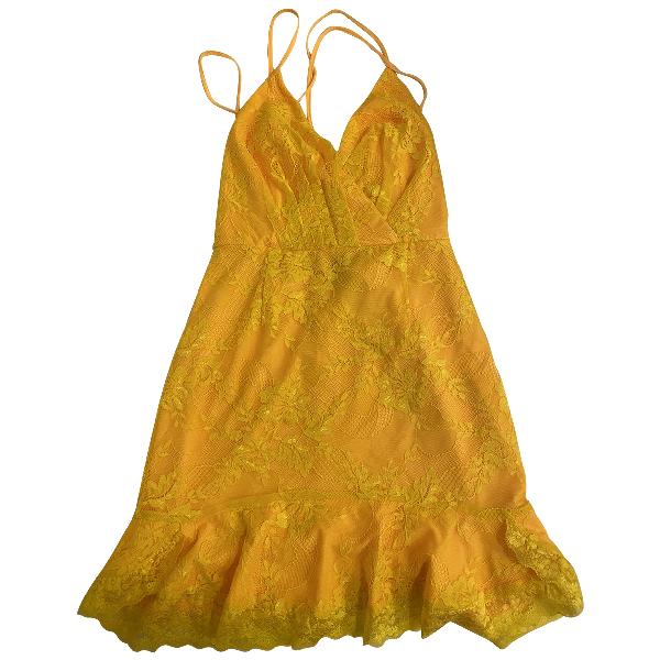 Nbd Yellow Dress