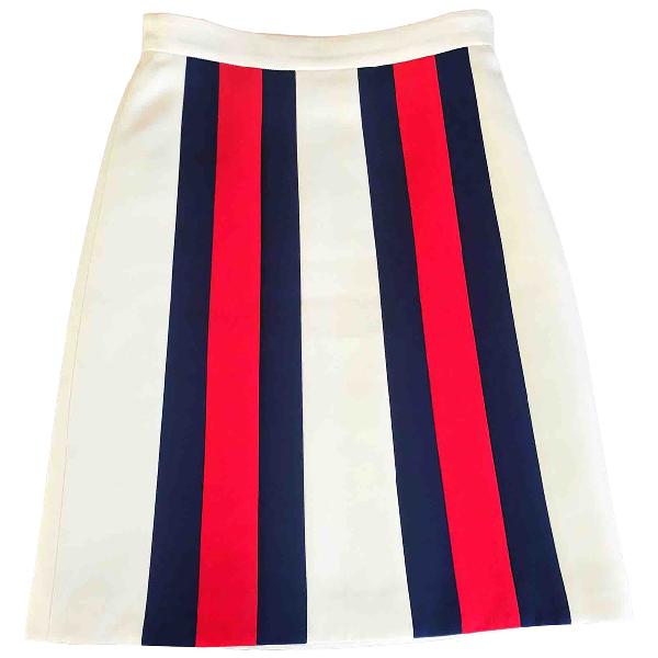 Gucci Ecru Wool Skirt