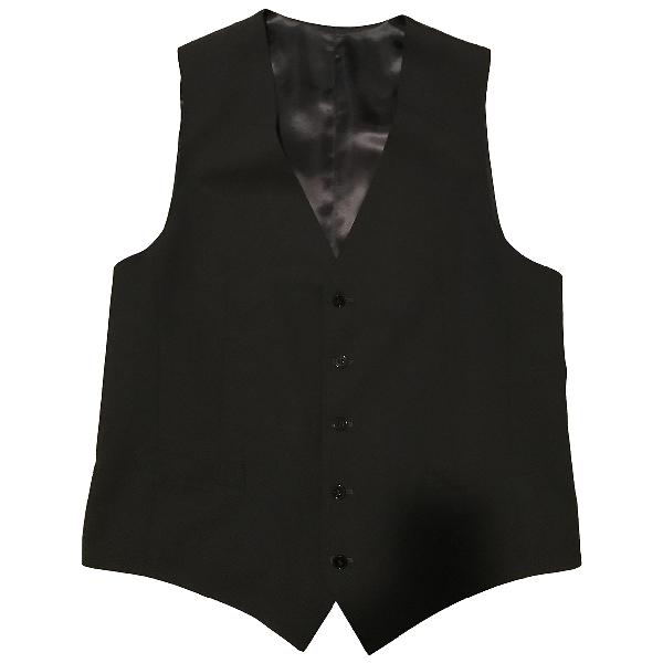 Dolce & Gabbana Black Wool Knitwear & Sweatshirts