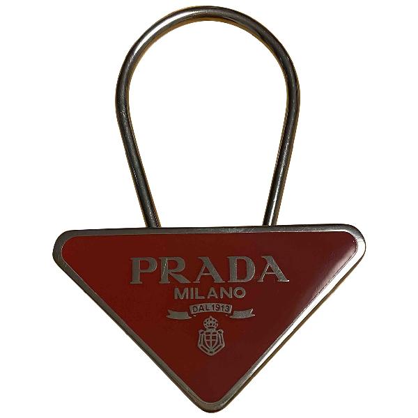 Prada Red Purses, Wallet & Cases