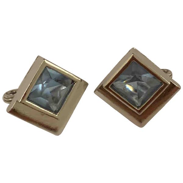 Saint Laurent Multicolour Metal Earrings