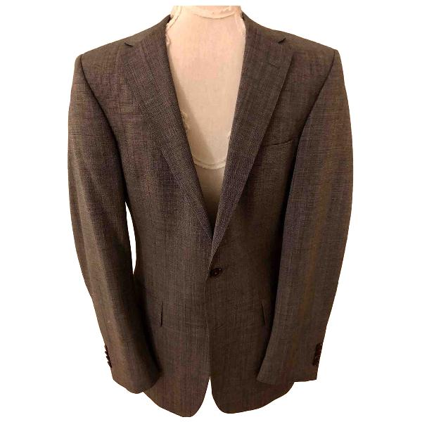 Gieves & Hawkes Grey Wool Jacket