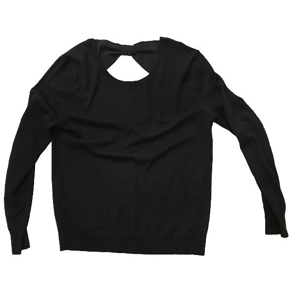 Claudie Pierlot Black Wool Knitwear