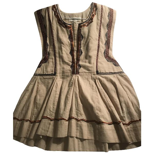 Etoile Isabel Marant Ecru Cotton  Top