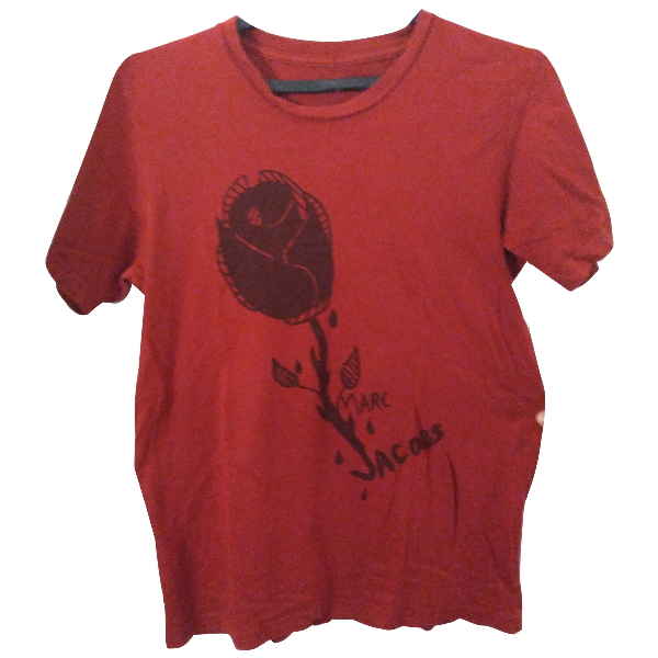 Marc Jacobs Red Cotton T-shirts