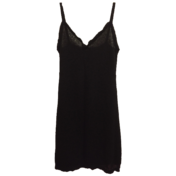 Miu Miu Black Wool Dress